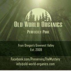 OLD WORLD ORGANICS